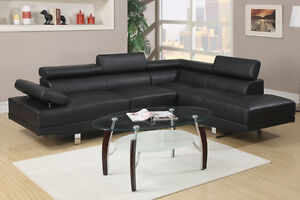 NEW! Ultra Modern Sectional Sofa with Adjustable Headrests! Comox / Courtenay / Cumberland Comox Valley Area image 3