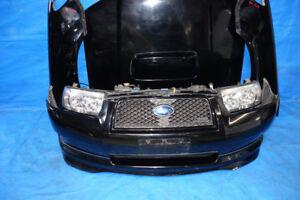 JDM Subaru Forester SG5 Bumper Lip Headlights Fenders Hood 06+