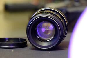 Vintage Helios-44-2 2/58mm Lens + Fuji Adapter
