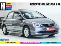 2004 Honda Civic 1.6 i-VTEC Executive 5dr Hatchback Petrol Manual