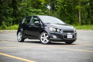 2014 Chevrolet Sonic LT with BACK UP CAMERA, WINTER TIRES +MORE