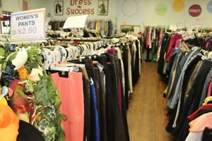 50% Off All Ladies Dress Pants and Capris!
