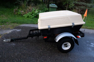 "Utility trailer with 1 7/8"" ball"