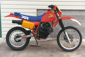 *** Wanted 1983 - 84  XR350 Parts ***