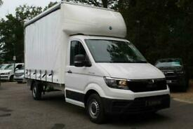 2021 71 MAN TGE 3.140 CURTAIN SIDE AUTOMATIC DIESEL