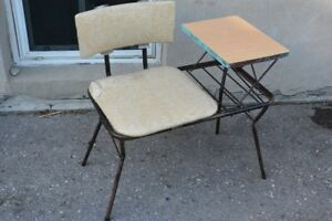 free retro furniture in need of FIXING UP
