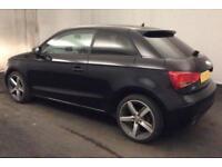 2011 BLACK AUDI A1 1.2 TFSI SPORT PETROL MANUAL 3DR CAR FINANCE FR £29 PW