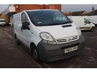 2003 Nissan Primastar 1.9dCi SE Van 100ps Diesel white Manual