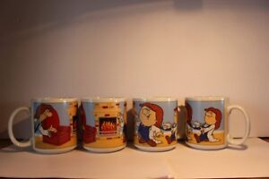 Set Of (4) Tetley Tea Mugs / Cups NEVER USED (VIEW OTHER ADS)