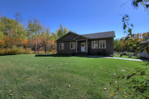 Walkout Bungalow on 2 Acres