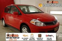 2011 Nissan Versa Hatchback 1.8 S 6sp (as of 12.15.2010)