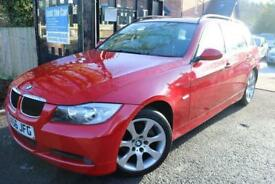 2006 (56) BMW 3 SERIES 318i SE Touring Red FSH Automatic Estate FinanceAvailable