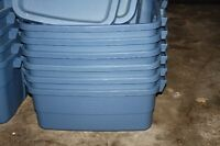10- Rough Neck Storage Totes by Rubbermaid-Must Pick Up Today