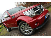 Dodge Nitro 2.8CRD auto SXT CHERRY RED