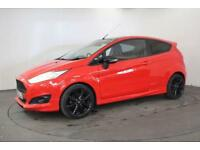 2015 65 FORD FIESTA 1.0 ZETEC S RED EDITION 3D 139 BHP