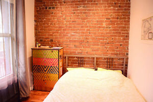 Chambre a Louer bel appartement, Beaudry