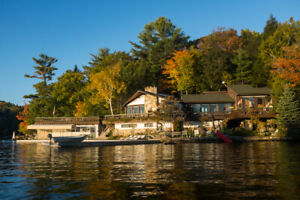 Large Family Cottage on Healey Lake, Muskoka - Water Access Only