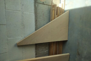 Red Oak Diamond, Triangle and Pie Shaped Stair Treads 125.00