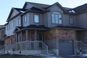 beautiful end unit freehold townhouse in Doon