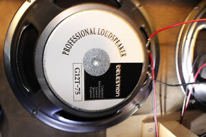 4 Celestion G12T-75, made in England