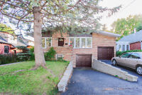 ***RARE Bungalow with 2 garages in NDG***