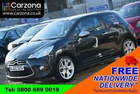 image for 2010 Citroen DS3 1.6 HDI BLACK AND WHITE 3d 90 BHP + FREE DELIVERY + FREE 3 YEAR