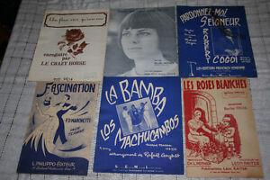 Partition musical des année 50
