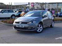 2017 VOLKSWAGEN GOLF Volkswagen Golf 1.4 TSI Match Edition 5dr