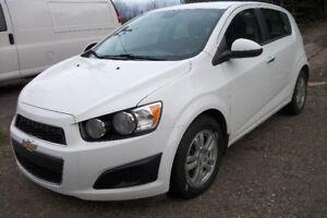 Chevrolet Sonic LT, Automatique et Garantie
