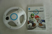 Mario Kart Wii avec un volant