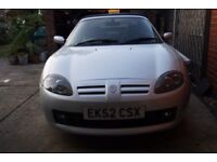 Mg tf 2002 stepspeed automatic