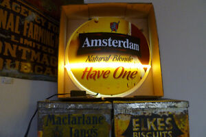 Brand New Neon Sign In box: Amsterdam Blonde Beer