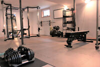 Exclusive Personal Training Studio (daytime sessions only)