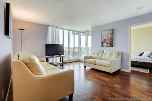 Spacious, Fully furnished 2 Bedrooms Condo