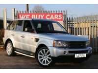Land Rover Range Rover Sport 2.7TD V6 auto 2007MY HSE TOP SPEC+BARGAIN PRICED