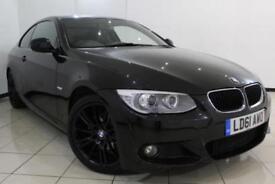 2011 61 BMW 3 SERIES 2.0 320I M SPORT 2DR AUTOMATIC 168 BHP