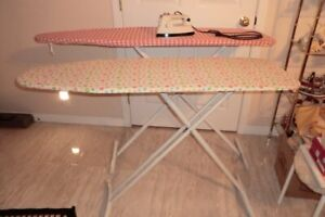 IRONING BOARDS - $15.00 EA. & STEAM IRON  -$18.00