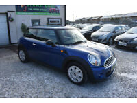 MINI 1.6TD One DIESEL BLUE 3 DOOR 2012 MODEL +DRIVES SUPERB+