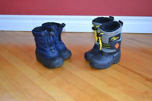 Soulier botte garcon Kamik snow addidas shaussure stride rite
