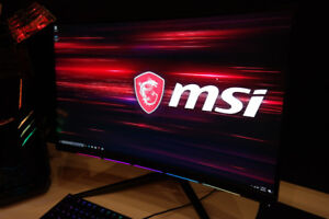 "27"" Curved MSI Gaming Monitor (IN THE BOX)"