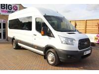 2014 FORD TRANSIT 460 TDCI 125 L4 H3 TREND 17 SEAT BUS RWD MINIBUS DIESEL