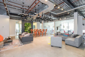 AMAZING Shared office space AVAILABLE NOW