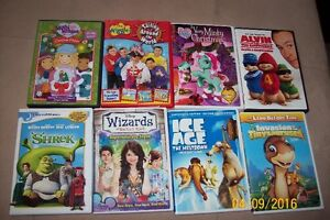 8 DVD's for sale!