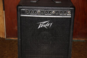 Peavey Amplifier and a shure microphone for sale.