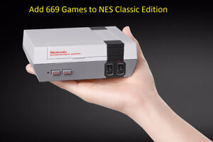 Add 669 Games to the Nes Classic