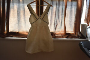 Summer Ivory White Dress - Like New. Free delivery