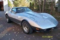 4 speed anniversary Corvette