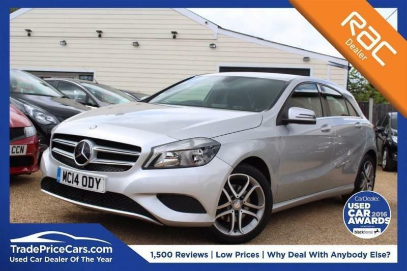 2014 14 MERCEDES-BENZ A CLASS 1.6 A180 BLUEEFFICIENCY SPORT 5D 122- RAC DEALER