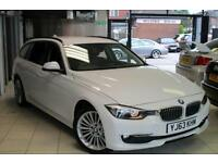 2013 63 BMW 3 SERIES 2.0 320D LUXURY TOURING 5D 181 BHP DIESEL