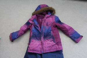 Girls Snowsuit size 10/12 in great shape only worn one year
